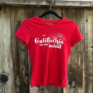 Hollister California tee shirt short sleeve M cali